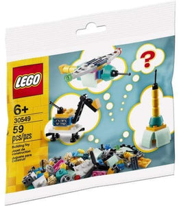 LEGO 30549 Build Your Own Vehicles - Make It Yours, 59 Pieces