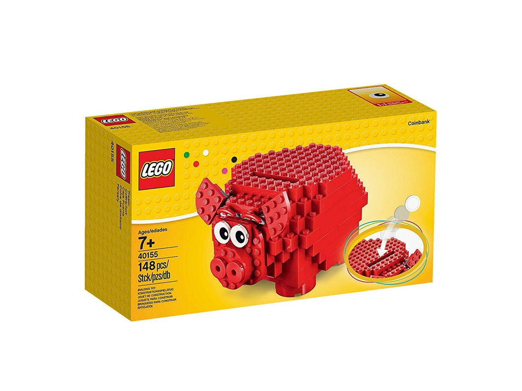 LEGO # 40155 PIG COIN BANK FREE US SHIPPING!