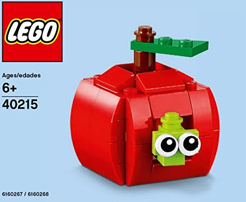 LEGO MONTHLY MINI BUILD POLYBAG APPLE AND WORM 40215 EDUCATION BUILDING TOY