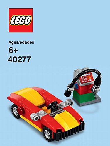 LEGO MONTHLY MINI BUILD POLYBAG CAR AND PETROL GAS PUMP 40277 BUILDING TOY