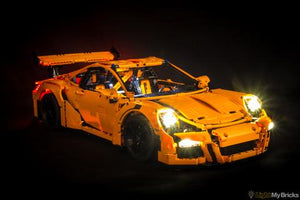PORSCHE 911 GT3 RS 42056 LIGHTING KIT (CAR NOT INCLUDED) BY LIGHT MY BRICKS
