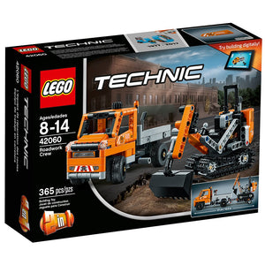 LEGO Technic Roadwork Crew 42060 Construction Toy
