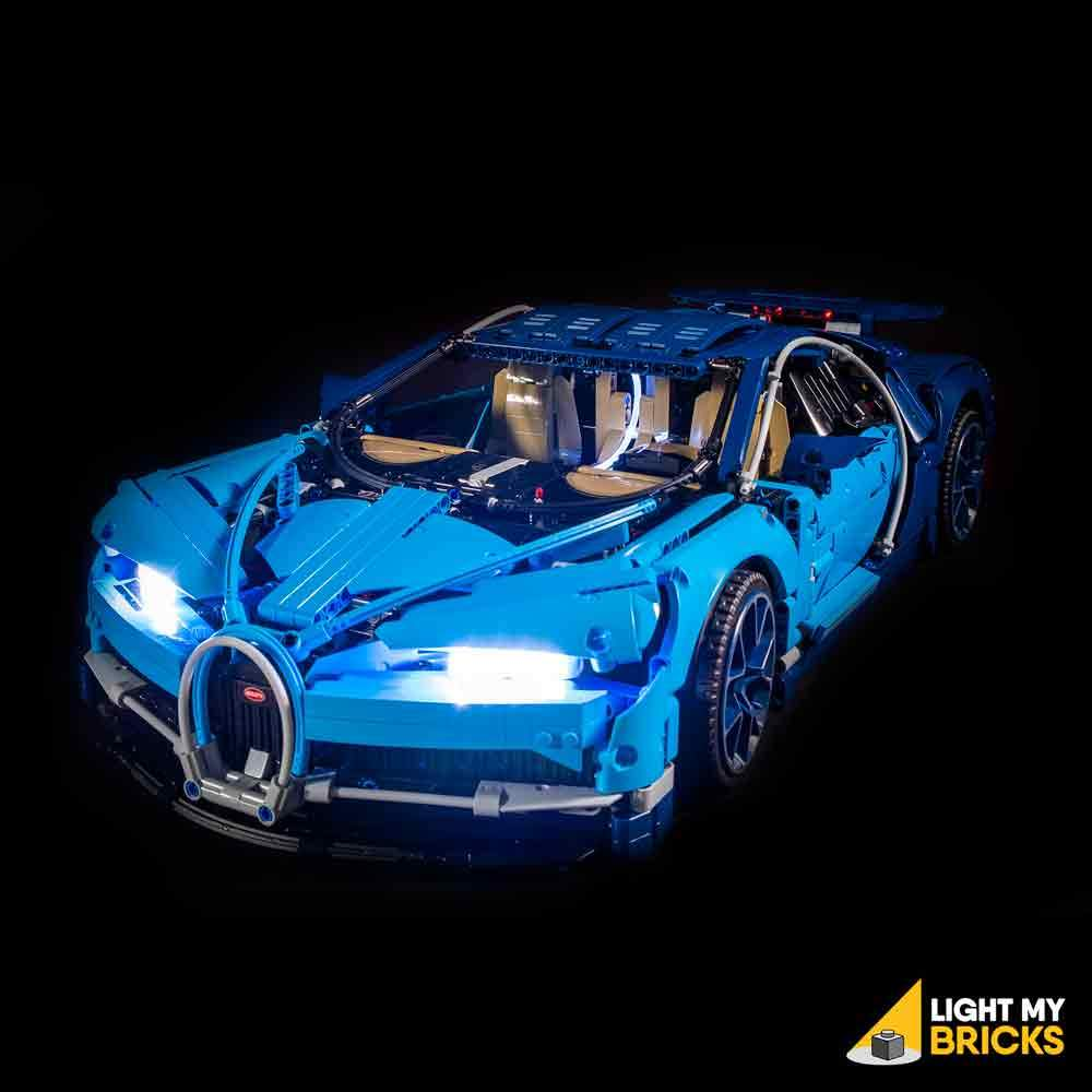 Bugatti Chiron Lighting Kit (BUILDING KIT NOT INCLUDED) 42083 By Light My Bricks