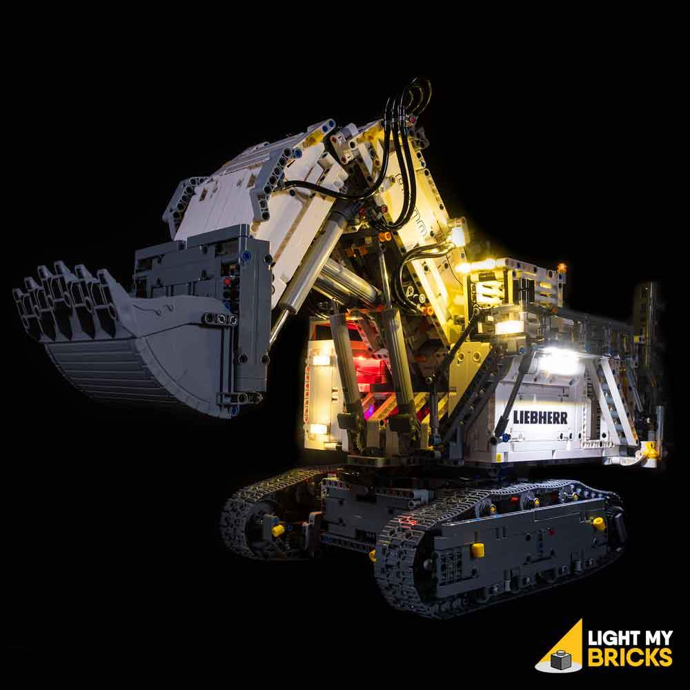 LIGHTING KIT FOR LIEBHERR R 9800 42100 (BUILDING SET NOT INCLUDED) BY LIGHT MY BRICKS
