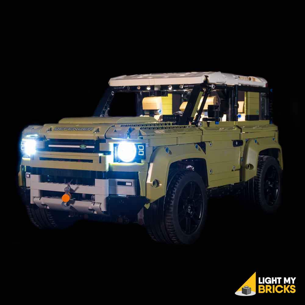 LIGHTING KIT FOR LAND ROVER DEFENDER 42110 (BUILDING SET NOT INCLUDED) BY LIGHT MY BRICKS