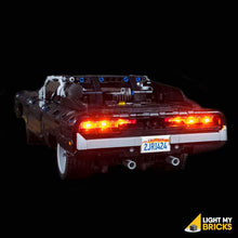 Lighting Kit for Dom's Dodge Charger 42111 (Building Set Not Included) by Light My Bricks