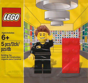 Lego Shop Employee MiniFigure Set 5001622