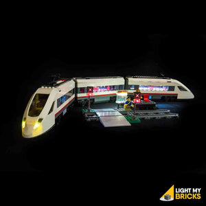 HIGH-SPEED PASSENGER TRAIN LIGHTING KIT 60051 (LEGO SET NOT INCLUDED) BY LIGHT MY BRICKS