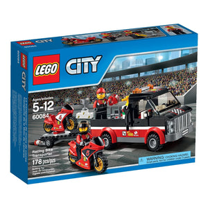 LEGO City Great Vehicles Racing Bike Transporter