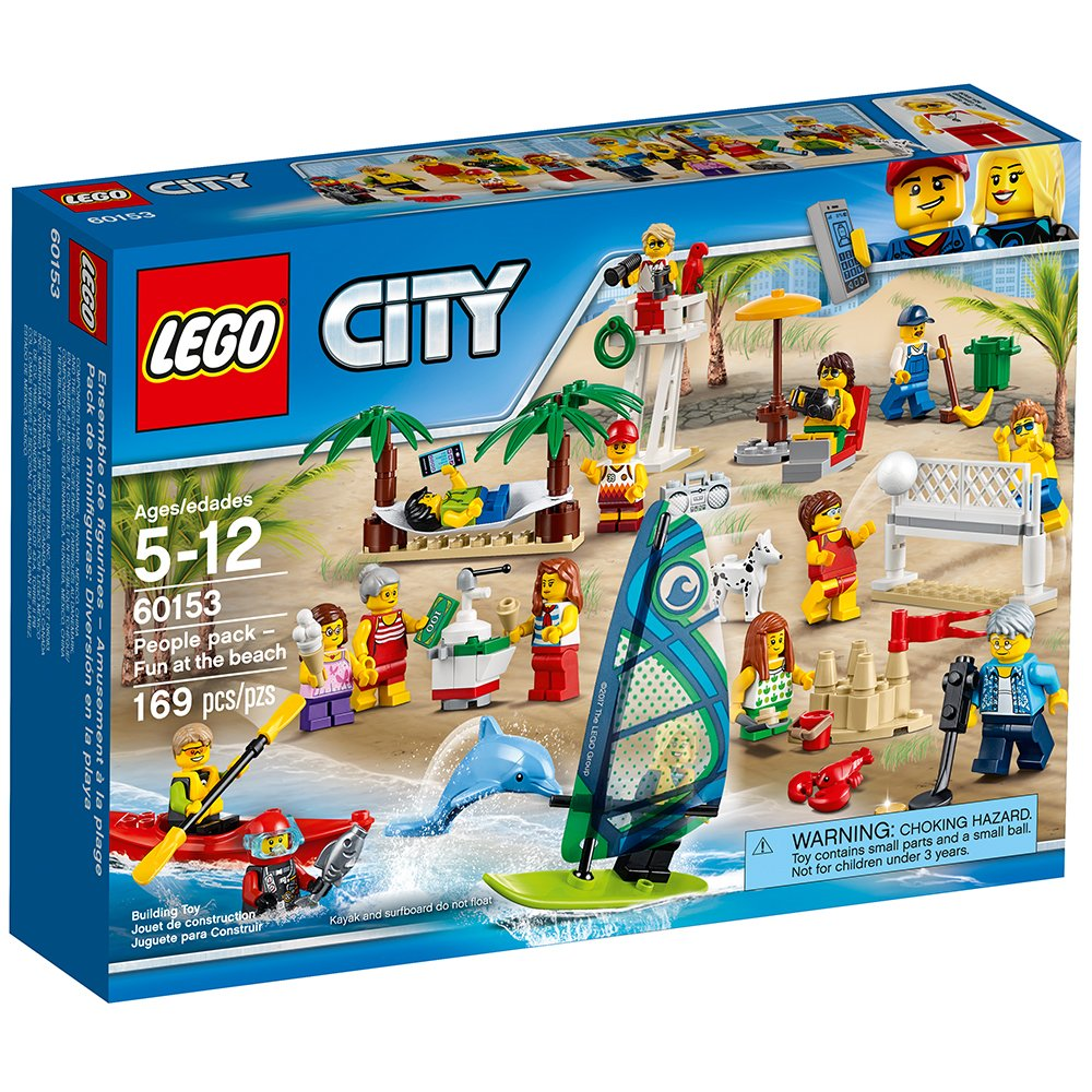 60153 LEGO City People Pack - Fun at the Beach