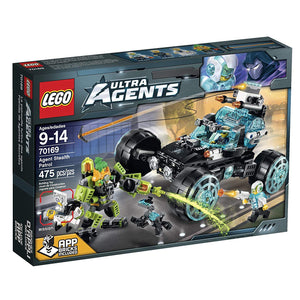 LEGO Ultra Agents Agent Stealth Patrol Toy 70169