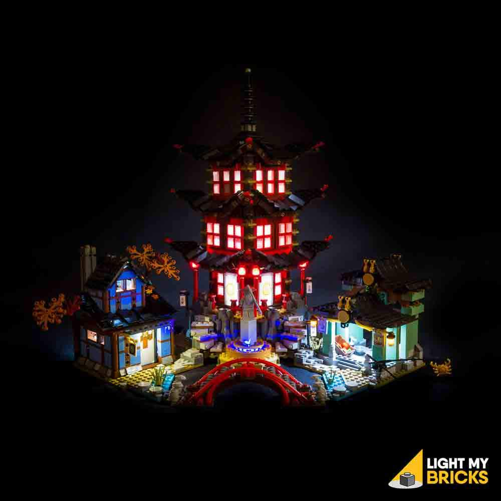 NINJAGO TEMPLE OF AIRJITZU 70751 LIGHTING KIT (LEGO SET NOT INCLUDED) BY LIGHT MY BRICKS