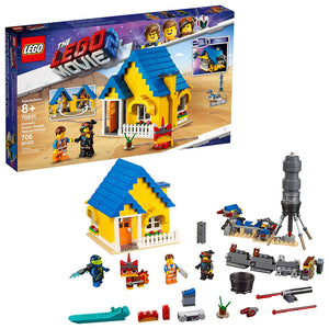 LEGO THE LEGO MOVIE 2 Emmet's Dream House/Rescue Rocket; 70831 Building Kit (706 Pieces)