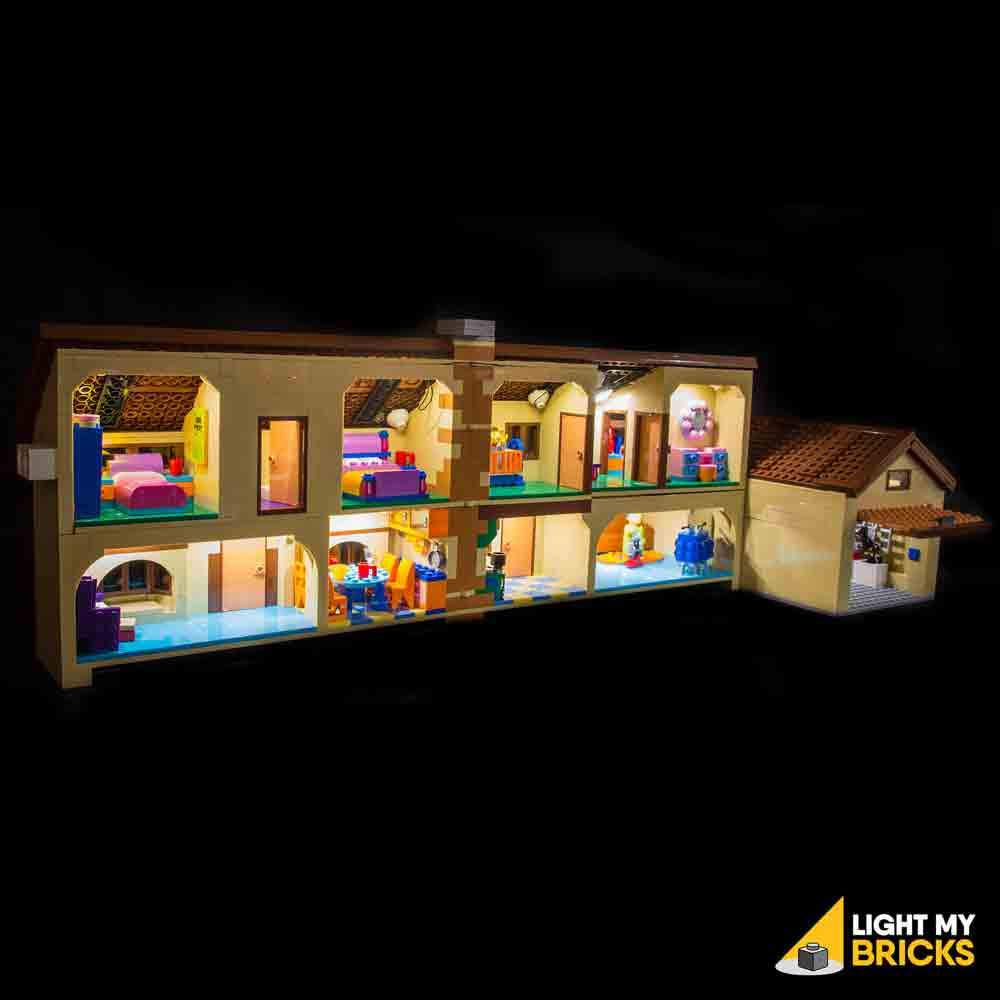 THE SIMPSONS HOUSE 71006 LIGHTING KIT (LEGO SET NOT INCLUDED) BY LIGHT MY BRICKS