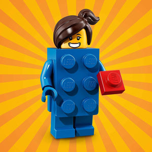 LEGO Series 18 Brick Suit Girl Minifigure [No Packaging] 71021