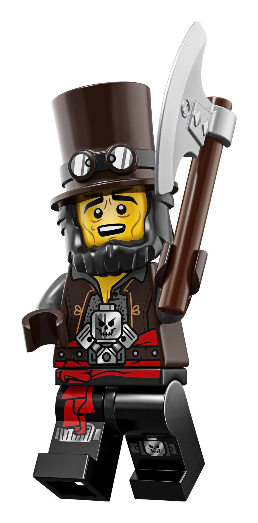 The LEGO Movie 2 Minifigure Series 71023 APOCALYPSEBURG ABE LINCOLN