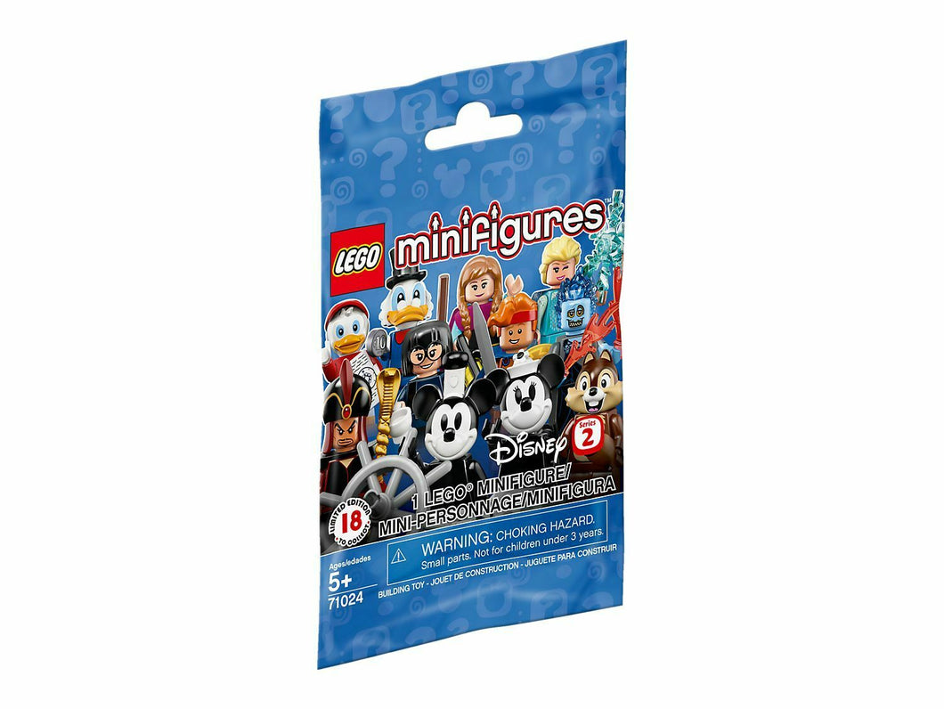 LEGO Disney Series 2 Minifigures ONE RANDOM PACK minifig SEALED 71024