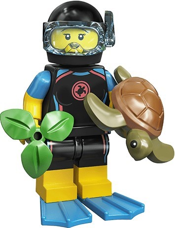 LEGO Minifigures Series 20 71027 Sea Rescuer