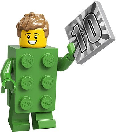 LEGO Minifigure Series 20 71027 Brick Costume Guy