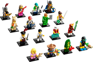 LEGO Minifigures Series 20 (71027) Building Kit Complete Set of 16