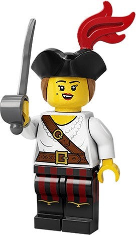 LEGO Minifigures Series 20 71027 Pirate Girl