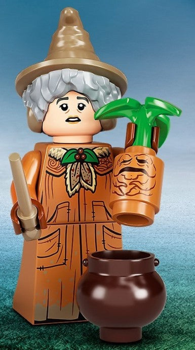 71028 LEGO Professor Pomona Sprout Minifigure Harry Potter Series 2