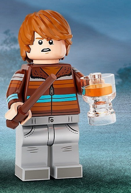 71028 LEGO Ron Weasley Minifigure Harry Potter Series 2