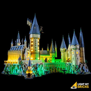 Hogwarts Castle Lighting Kit (BUILDING SET NOT INCLUDED) 71043 By Light My Bricks