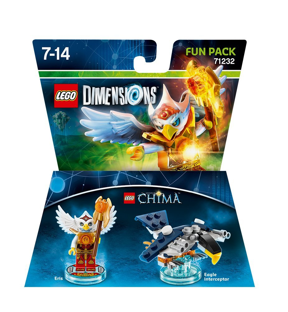 Lego Dimensions Building Toy Pack (Chima Eris 71232)