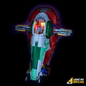 Star Wars Slave 1 LIGHTING KIT 75060 (BUILDING SET NOT INCLUDED) BY LIGHT MY BRICKS