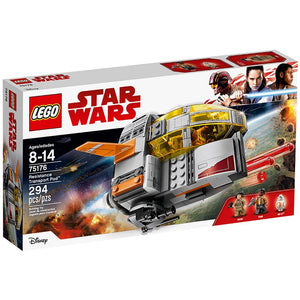 LEGO Star Wars Episode VIII Resistance Transport Pod 75176 Building Kit