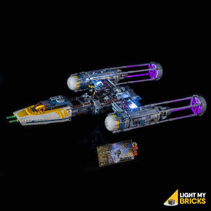 LIGHTING KIT FOR STAR WARS Y-WING STARFIGHTER 75181 (BUILDING SET NOT INCLUDED) BY LIGHT MY BRICKS