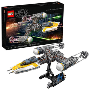 LEGO Star Wars Y-Wing Starfighter 75181 Building Kit (1966 Piece), Multi