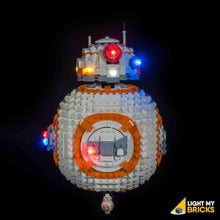 BB-8 Lighting Kit for Lego 75187 (Lego set not included) by Light my Bricks