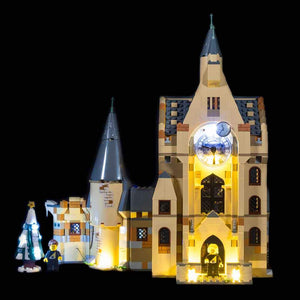 Lighting Kit for Hogwarts Clock Tower 75948 (Building Set Not Included) by Light My Bricks
