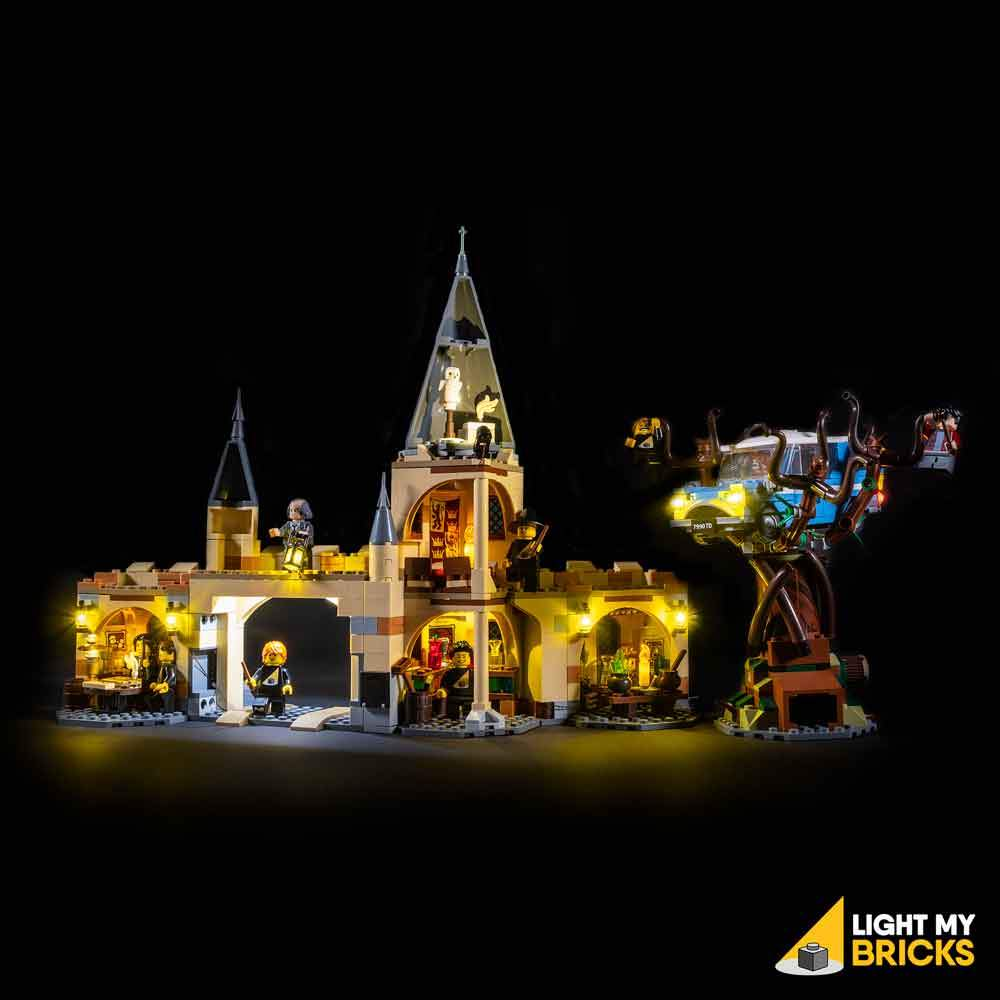 Lighting Kit for Hogwarts Whomping Willow 75953 (BUILDING SET NOT INCLUDED) by Light my Bricks
