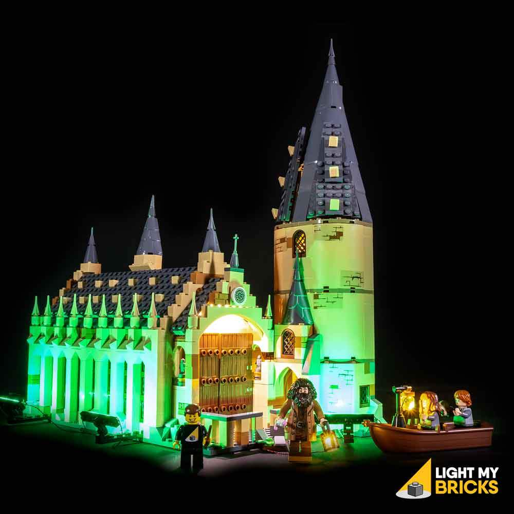 Lighting Kit for Hogwarts Great Hall 75954 (BUILDING SET NOT INCLUDED) by Light my Bricks