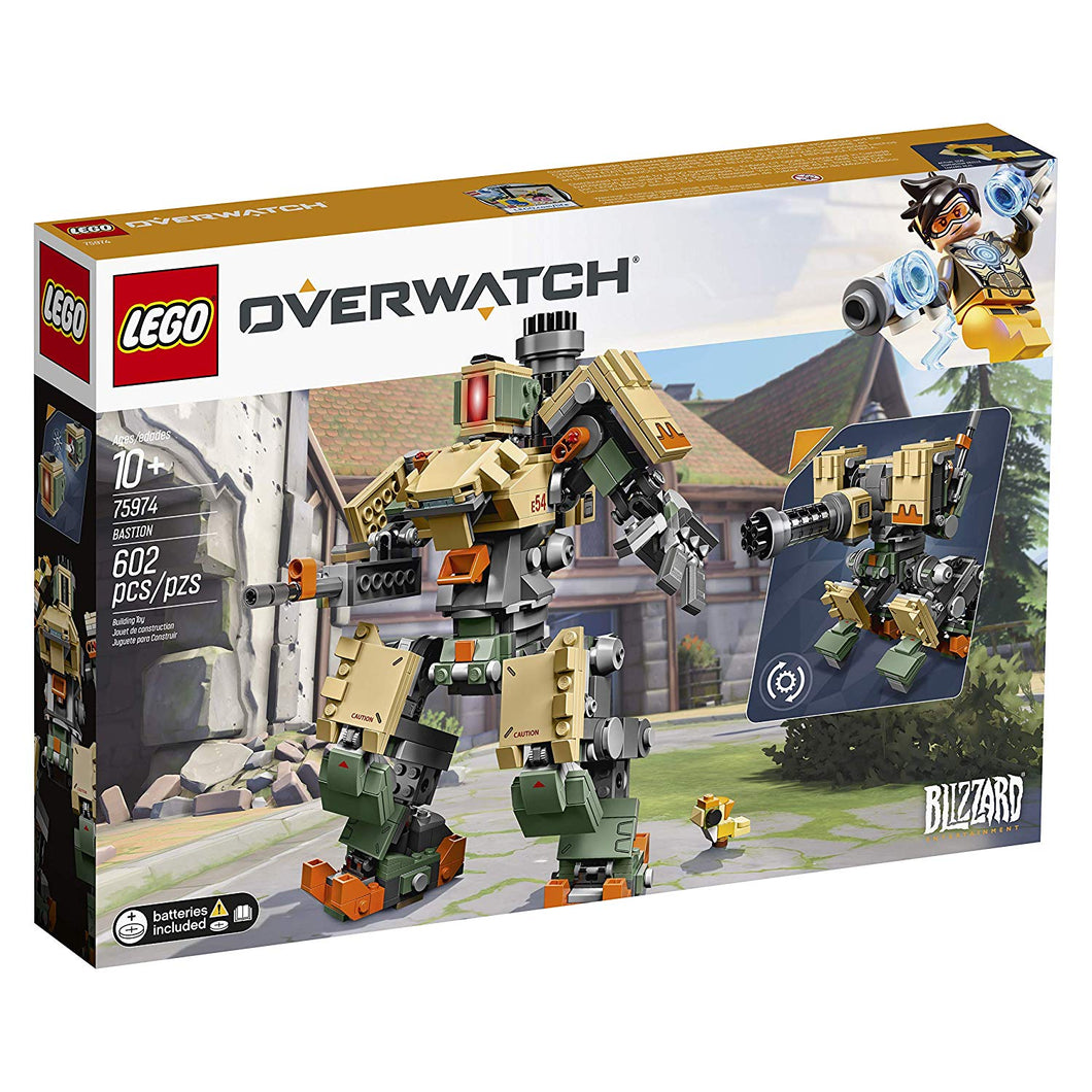 LEGO 75974 Overwatch Bastion Building Kit, Multicolour