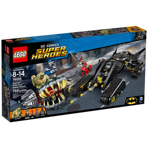 LEGO Super Heroes 76055 Batman: Killer Croc Sewer Smash Building Kit (759 Piece)