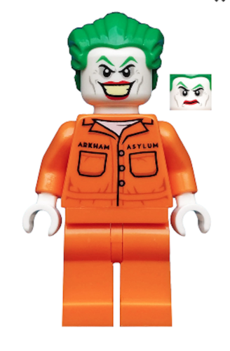 The Joker - Prison Jumpsuit (76138) MINIFIGURE