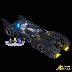 LIGHTING KIT FOR LEGO DC BATMAN 1989 BATMOBILE 76139 (BUILDING SET NOT INCLUDED) BY LIGHT MY BRICKS