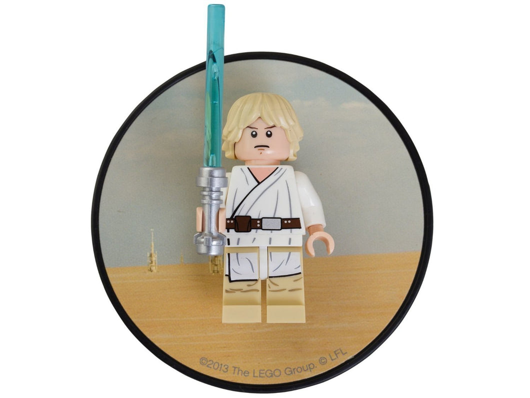 LEGO luke skywalker magnet 850636