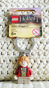 LEGO Hobbit Bilbo Baggins Key Chain 850680