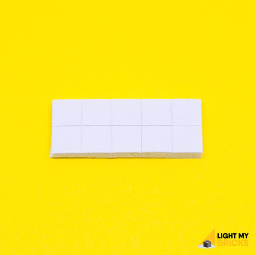 ADHESIVE SQUARE (10 PACK) BY LIGHT MY BRICKS