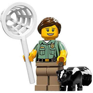 LEGO Series 15 Animal Control Officer Minifigure [With Skunk]