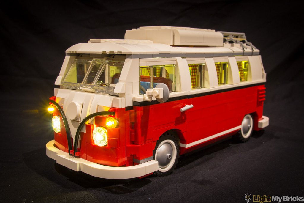 VW Camper Lighting Kit for LEGO Set # 10220 (VW Camper not included) by Light My Bricks