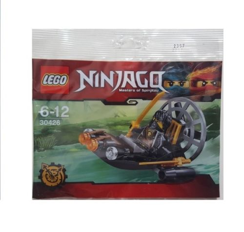 LEGO NINJAGO POLYBAG WITH MINIFIGURE COLE SWAMP AIRBOAT HOVERCRAFT 30426