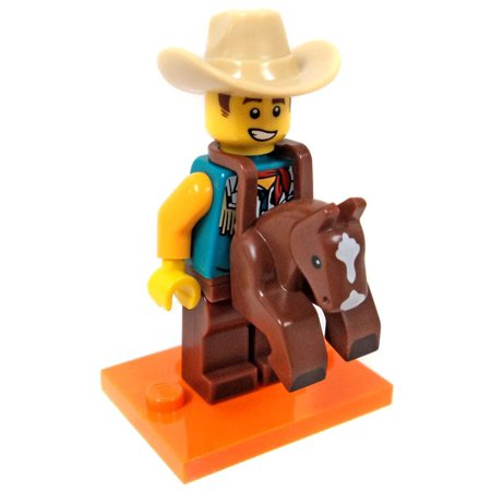 LEGO Series 18 Cowboy Costume Guy Minifigure [No Packaging]