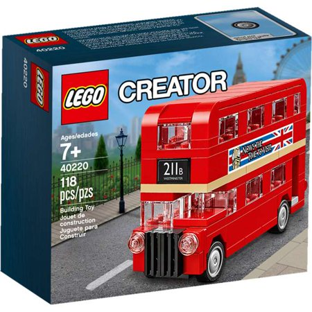 Creator Double Decker London Bus Set LEGO 40220