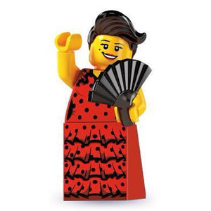 LEGO Series 6 Flamenco Dancer Minifigure